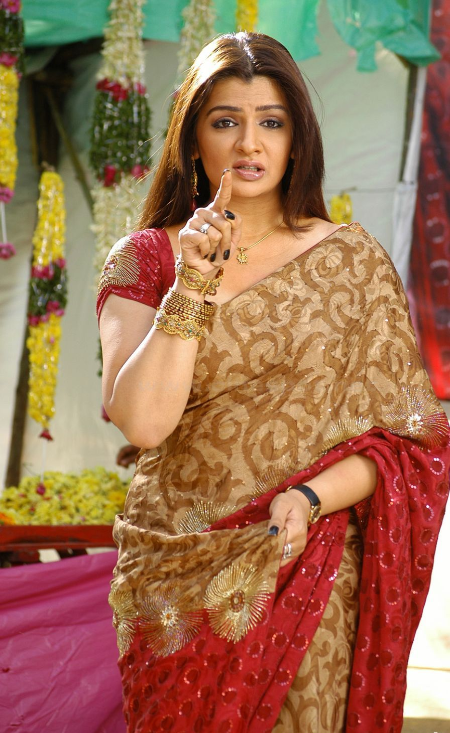 arathi agarwal the south indian super model cum actress in saree